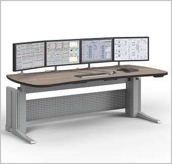 Elicon VC-E valvomopöytä sähkösäädöllä