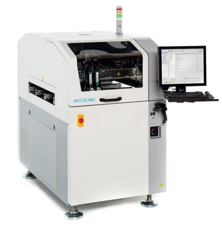 Mycronic - Stensiilitön Jetprinter
