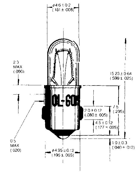 Ba5s (MB) indikaatorlambid