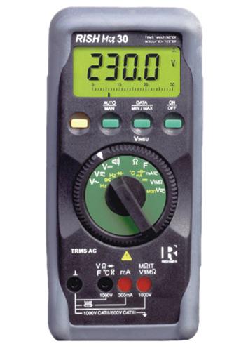Digitaalne TRMS-multimeeter Rish 30 TRMS