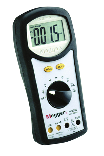 Digitaalne multimeeter Megger 300