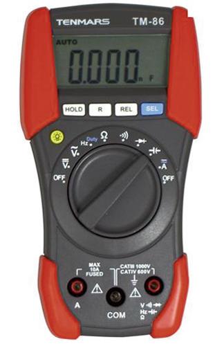 Digitaalne multimeeter Tenmars TM-88