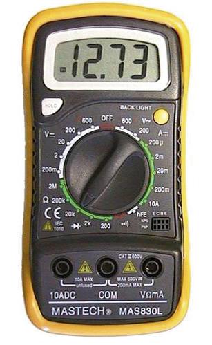 Digitaalne multimeeter Mastech DMM 830L
