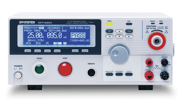 Pingeteimi testrid , GW Instek GPT-9000 -sarja