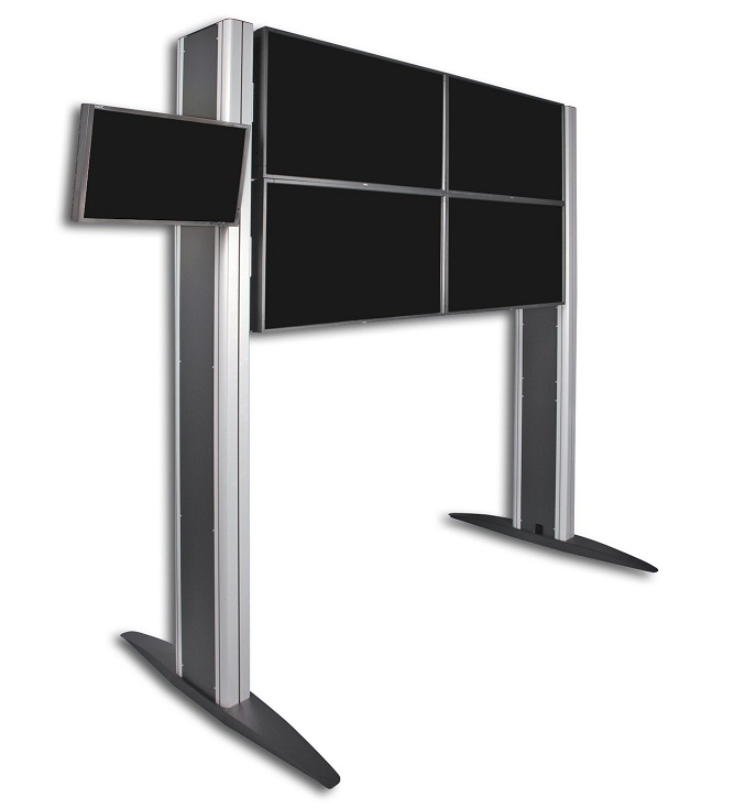 Monitoriseinä (usean monitorin lattiateline)