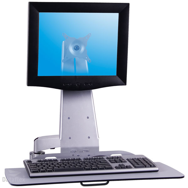 Klaviatuuri + monitori kandur, seinakinnitus