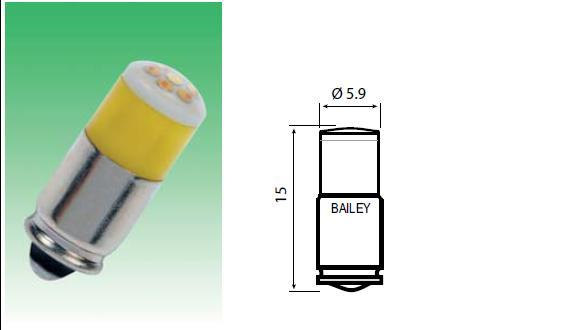 T-1 3/4 Mg6s/9  LED-lambid