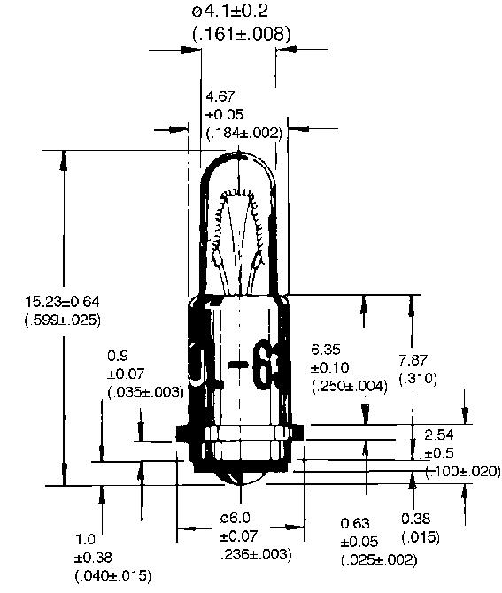 T-1 1/4SF -Midget Flanged - lamp