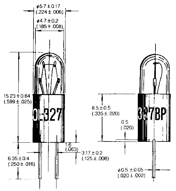 T-1 3/4 Soklita hõõglambid