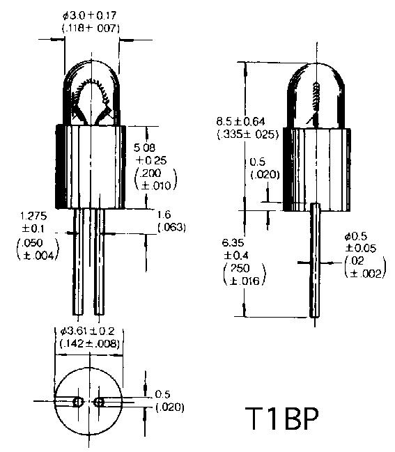 T-1BP/BPC/BPE  lambid