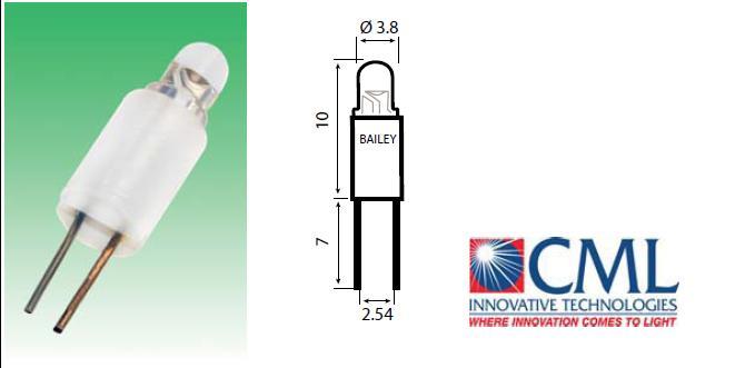 T-1BP/BPC/BPE  LED-lambid