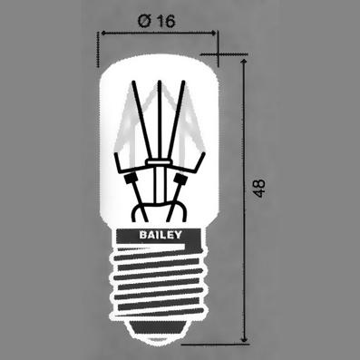 E-14  lambid 16x48 mm