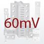 DIN-standardi šundid, 60mV