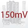DIN-standardi šundid, 150mV