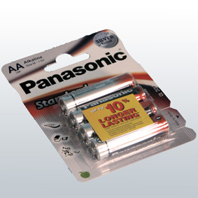 Panasonic Standard power -patareid