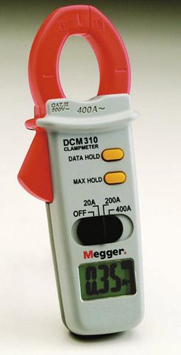 AC-ampertangid Megger DCM310