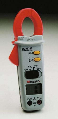 AC-ampertangid Megger DCM320