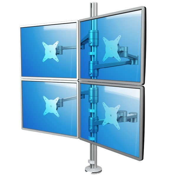 ViewLite ,   4 monitori kiirkinnitusega