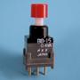 Nikkai Circuitboy-sarja surunupplülitid trükkplaadile, straight mounting