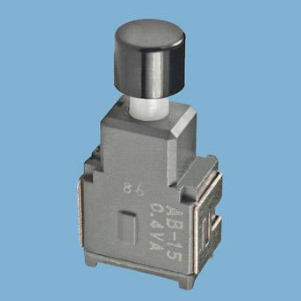 Nikkai Circuitboy-sarja surunupplülitid trükkplaadile,  right angle mounting