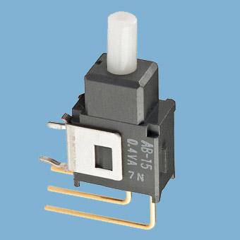 Nikkai Circuitboy-sarja surunupplülitid trükkplaadile,  vertical mounting
