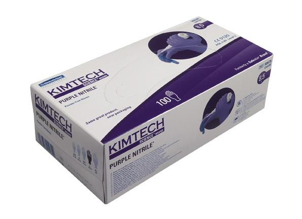 Kimtech Purple Nitriilkinnas
