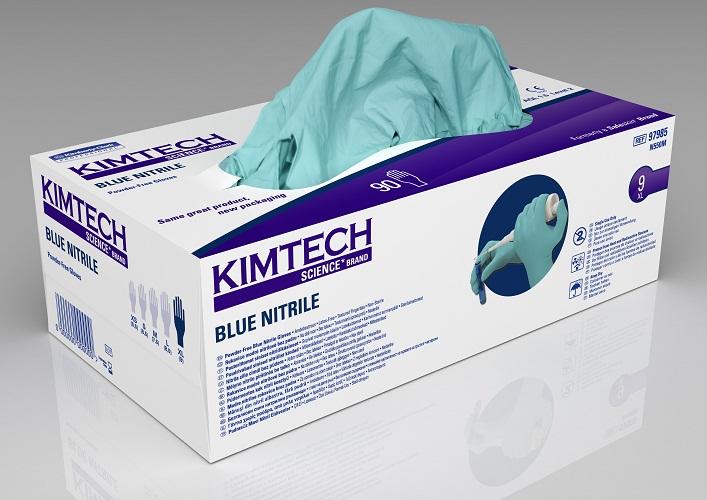 Kimtech Blue Nitriilkinnas