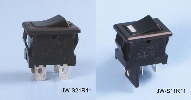 JW-sarja kiiklülitid esipaneelile