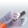 PU sõrmeotstega ESD-vaskkiudkindad