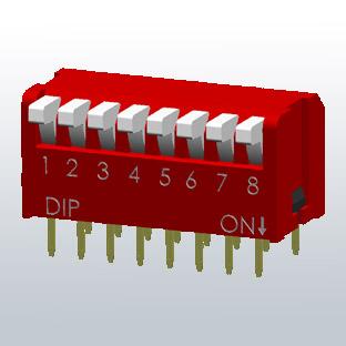 DP-sarja DIP-lülitid, Diptronics