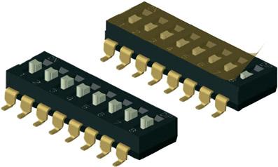 DM(R)-sarja DIP-lülitid, Diptronics