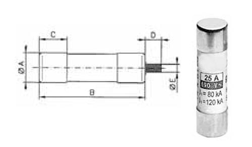 Tööstuslikud sularid 14 * 51 mm
