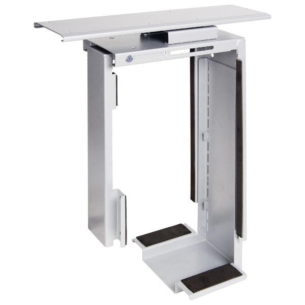 PC-kandur laua alla, väljatõmmatav ja keeratav