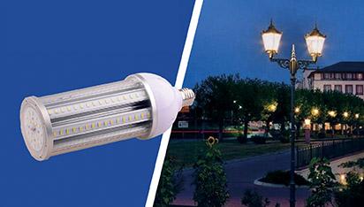 E40 sokliga LED-lambid