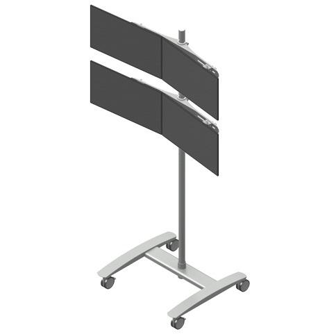 ViewMate vaunu 2x2 monitorin telineellä