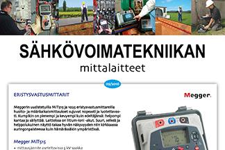 Sähkövoimatekniikan mittalaitteet