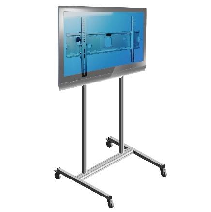 Lattiateline/vaunu isolle monitorille, max. VESA800x400