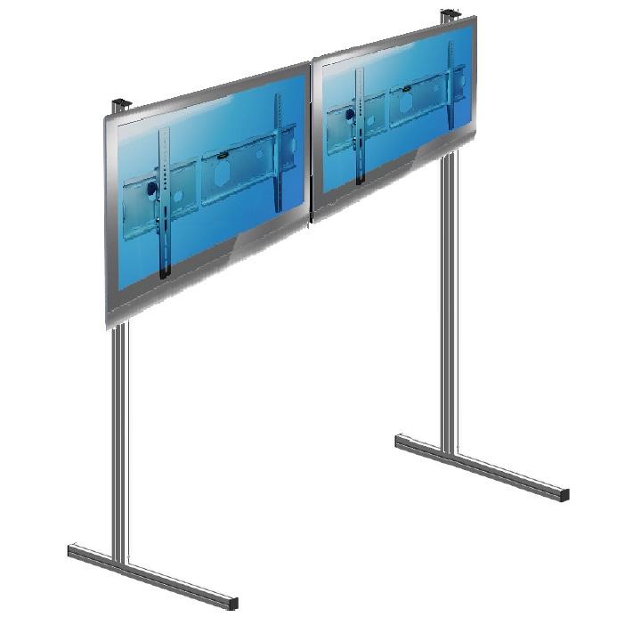 Lattiateline 2 monitoria vierekkäin