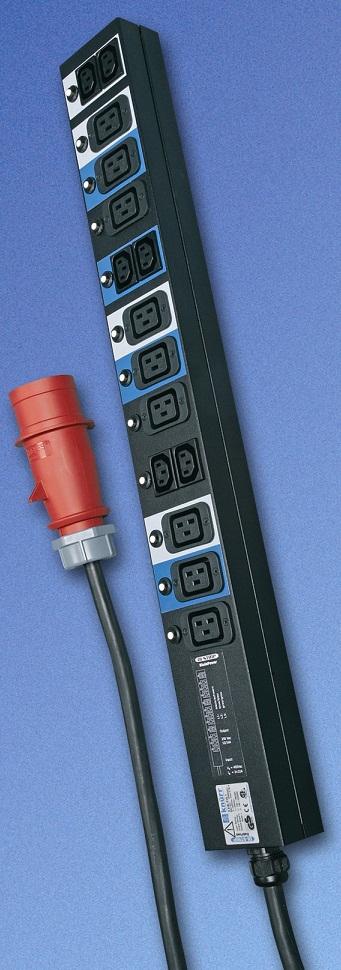 IEC320-rasiat, input 3x32A