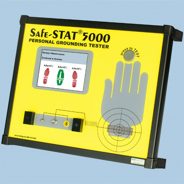 Randmepaela- ja jalatsitester Safe-Stat 5000