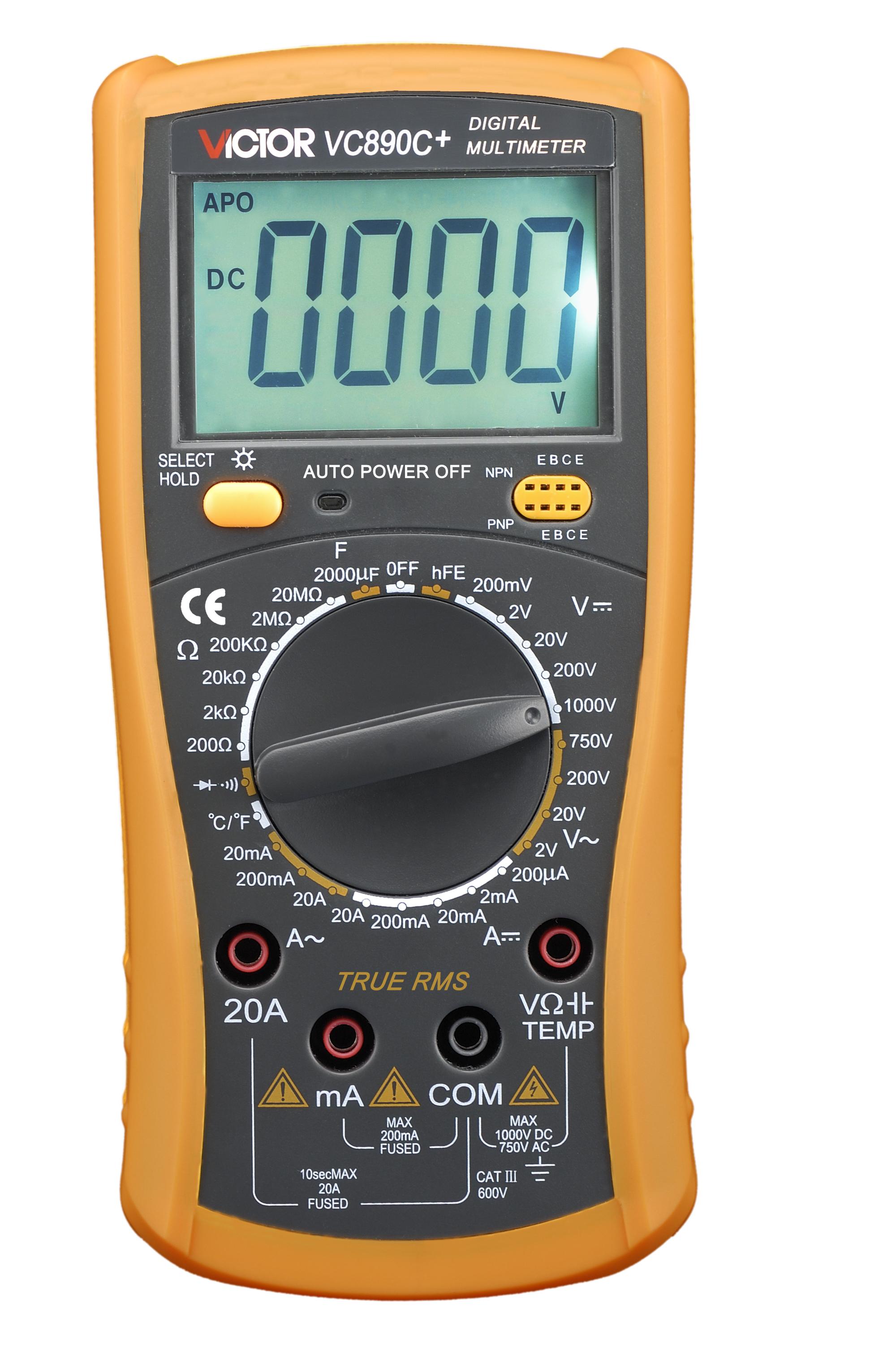 Digitaalne multimeeter Victor 890C+