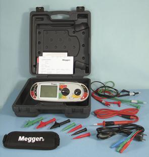 Elektripaigaldise tester Megger MFT1815