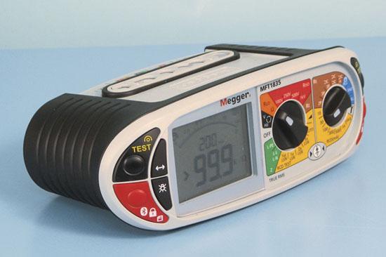 Elektripaigaldise tester Megger MFT1835