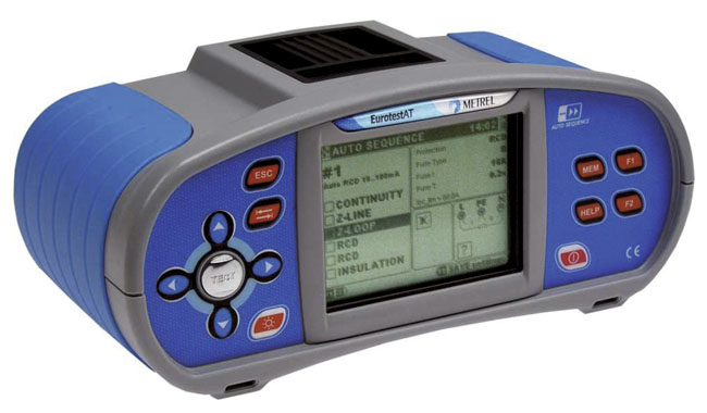 Elektripaigaldise tester Metrel MI-3101