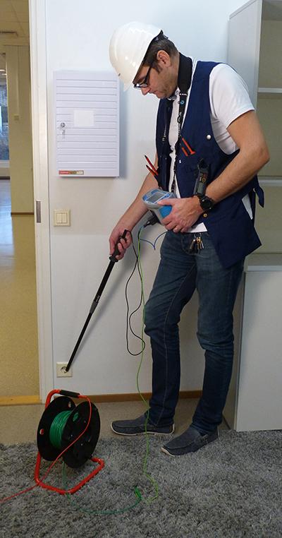 Elektripaigaldise testri lisavarustus
