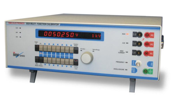 Yleismittari-kalibraattorit, Time Electronics 5025-sarja