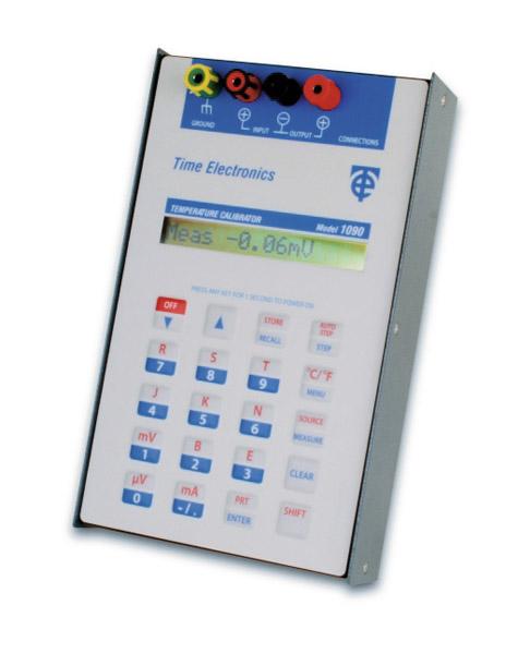 Prosessi- ja lämpökalibraattori Time Electronics 1090