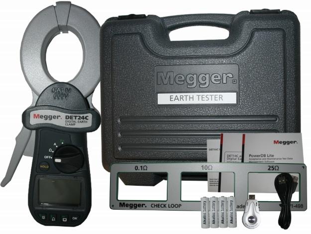 Maavastuspihti Megger DET24C