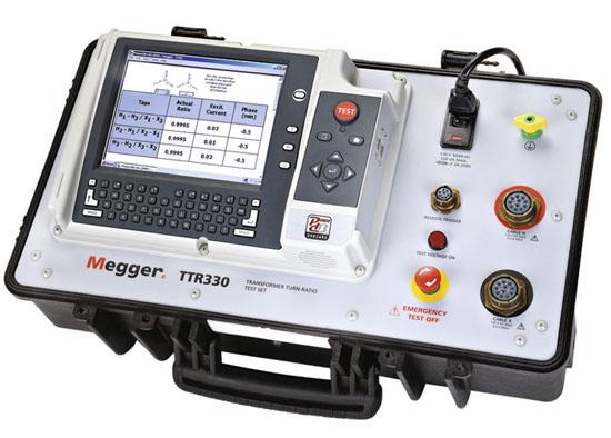 Muuntosuhdemittari Megger TTR330