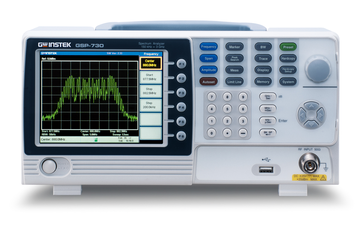 Spektrianalüsaator GW Instek GSP-730